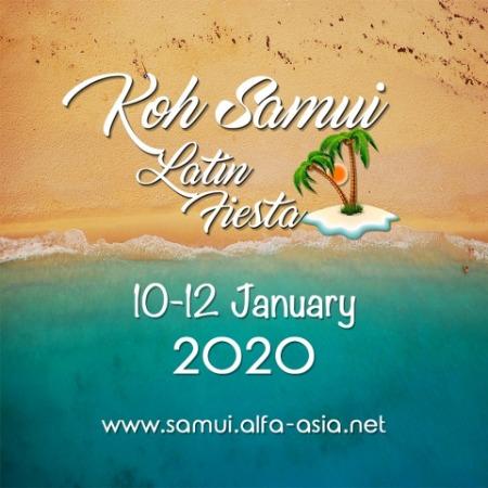 Koh Samui Latin Fiesta 2020