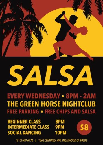 Salsa Green Horse Flyer-01